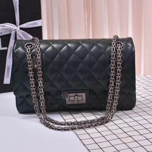 Chanel 2.55 Handbag CH211-Dark-Blue