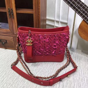 Chanel Gabrielle Small Hobo Bags CH216-Red