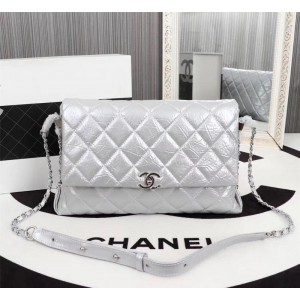 Chanel Large Flap Bags CH223-Silver