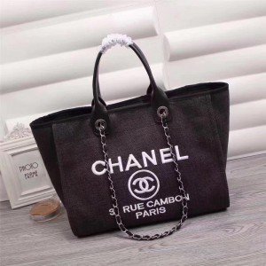 Chanel Beach Totes CH020-Black