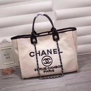 Chanel Beach Totes CH020-White