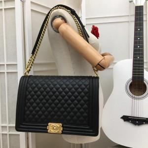Chanel Large BOY CHANEL Handbag CH029-Black