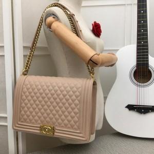 Chanel Large BOY CHANEL Handbag CH029-Pink