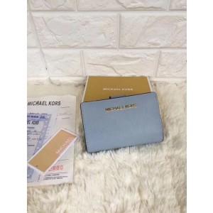 Michael Kors Folding Wallet Light Blue (MK606)