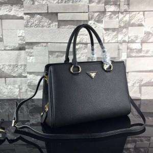Prada Handbags 2961 Black 33*24*15.5