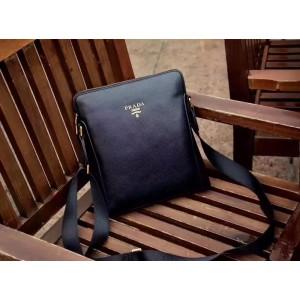 Prada Messenger Bags 223 Black 25*28*5